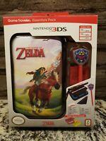 Official Nintendo 3DS The Legend of Zelda Link Game Traveler Travel Case Kit NEW