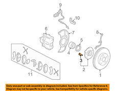 HONDA OEM Brake-Front-Wheel Stud 90113S84901