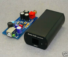 PCM2706 USB DAC Coaxial headphone amplifier Completed in case