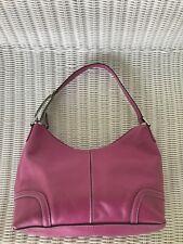 Franco Sarto Leather Purse Handbag Shoulder Bag Pink