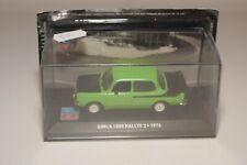 TT 1:43 ALTAYA IXO SIMCA 1000 RALLYE 2 1976 GREEN MINT BOXED