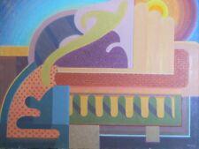 OSCAR V. GALGIANI 1903-1994 Listed Early California Plein Air Impressionist