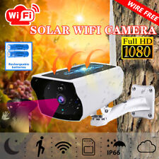 Wifi Solar IP Camera Security Outdoor 1080P Wireless Night Vision Waterproof