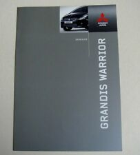 Mitsubishi . Grandis . Mitsubishi Grandis Warrior . December 2004 Sales Brochure