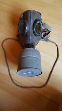 Tschechische Gasmaske 2WK Fatra mit Wehrmacht Abnahmestempel