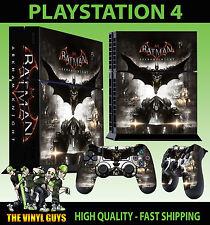 PS4 peau batman arkham knight dark knight autocollant + contrôleur decals debout