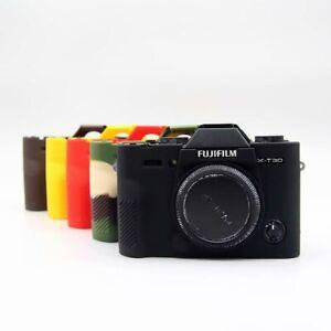For Fujifilm Fuji X-T30/ XT30 Soft Silicone Protector Skin Case Cover