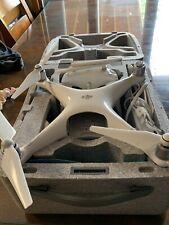 DJI Phantom 4 Standard Quadcopter Drone COMPLETE W/ CASE BATTERY REMOTE