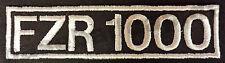 Patch ricamate n. 101 FZR 1000 Colour ricamate patch v8 Hotrod Biker Moto
