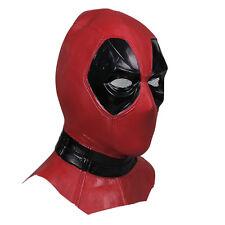Deadpool Helm Latex ganzer Kopf Maske Film Cosplay Halloween Erwachsene Version`