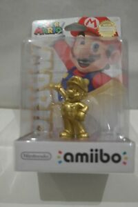 Nintendo Gold Mario Amiibo Super Mario Series Brand New Factory Sealed