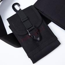 Mens Nylon Waist Belt Pouch Bag Purse Wallet Case Fanny Pack For Various Phones