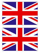 2x Aufkleber Union Jack Flagge Fahne UK Großbritannien England Auto Motorrad 5cm