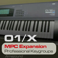 KORG 01W MPC EXPANSION PROGRAMS & KEYGROUPS READY TO PLAY MPC FORMAT DOWNLOAD