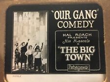 Our Gang Little Rascals Extremely Rare Original Movie Magic Lantern Slide 1925