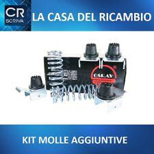 Kit Molle Rialzo rinforzate Fiat Doblò Metano Stabilizzatrici Carico 300 KG