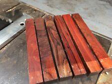 """Cocobolo (Nicaraguan ) Blank/exotic Woods 1.5""""x1.5""""x12"""" exotic hardwood"""