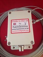 END FED ANTENNA LONGWIRE HF Multi Band Antenna ATU 9-1 unun 800w Filo in Teflon