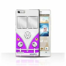 Housses et coques anti-chocs violet pour téléphone mobile et assistant personnel (PDA) Huawei