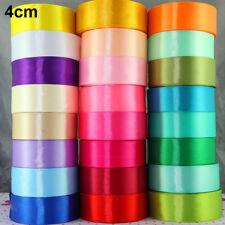 25yds Satin Ribbon Bow DIY Craft Sewing Supplies Pick Colors Wedding Party Decor