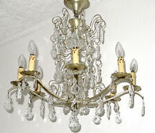 antiker kronleuchter kristall g nstig kaufen ebay. Black Bedroom Furniture Sets. Home Design Ideas