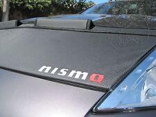 Car Hood Bra Fits Nissan 370Z 2009 10 11 12 13 14 15 16 17 18 19 CARBON + NISMO