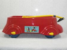 New listing Vintage Airflow Mickey Mouse Streamline Pull Toy Wagon-Desoto-1930s-Prewar -Nice!