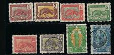 French Congo Stamps 35-49 Yv 7-41 Complete Used F/VF 1900-04 SCV $160.90 2 scans