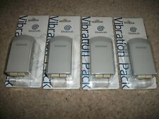 4x Genuine Official BRAND NEW BOXED  - RUMBLE / VIBRATION PACKS - SEGA DREAMCAST