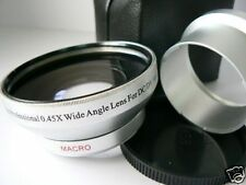 KAW SL 52mm 0.45X Wide-Angle Lens + Adapter Tube For Fuji Fujifilm E900 E550