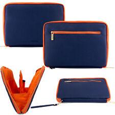 "Blue Orange Tablet Sleeve Pouch Case For Samsung Galaxy Tab S2/Tab E/Tab A 9.7"""