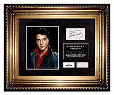 ELVIS PRESLEY Hair Lock CHARITY Signed COA letter Memorabilia Relic ART Music