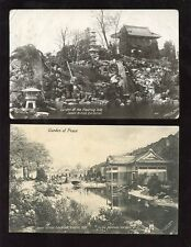 EXHIBITION PPCs 1910 JAPAN BRITISH + PMKS...2 CARDS