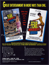 FEAR, ANXIETY & DEPRESSION__Orig. 1990 Trade print AD movie promo__TODD SOLONDZ