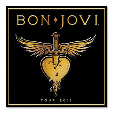 Bon Jovi tour program 2011 Brand New Jon Bon Jovi Richie Sambora