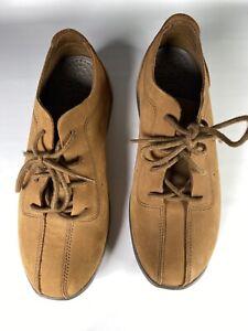 Crocs Venture Suede Casual Oxford Shoes Brown Lace-up Mens Size 7