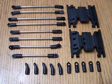 Axial SCX10 II 2000 Jeep Cherokee Steel Suspension Steering Link Set Skid Plate