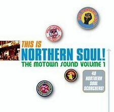 VARIOUS: THIS IS NORTHERN SOUL ! THE MOTOWN SOUND VOLUME 1 48 TRACK 2x CD NEW