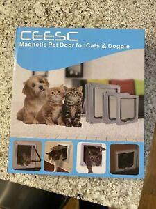 Magnetic Pet Door For XL Cats