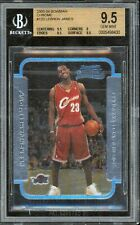 2003-04 LeBron James Bowman CHROME Rookie RC BGS 9.5 GEM MINT