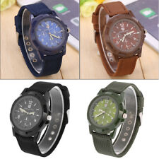 Men Military Army Fabric Nylon Watch Canvas Strap Sport Wrist Watches Boy Gift