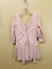 """New """"Dots a lot of Dots"""" skating dress size child large"""
