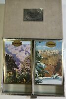 Vintage Congress Playing Cards 2 Decks SEALED Mountain Scene Cel-U-Tone Finish
