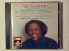 JESSYE NORMAN KLAUS TENNSTEDT Wagner: scenes from Tristan & Isolde Tannhauser cd