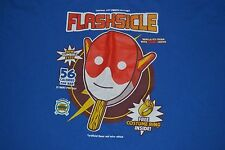 Flashsicle Ice Cream Treat Super Hero T Shirt 3XL XXXL Funny Central City Comics