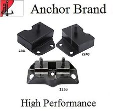 3 PCS FRONT MOTOR & TRANS MOUNT For 1968-1969 Ford TORINO 7.0L