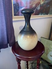 Large Iden Pottery Decanter