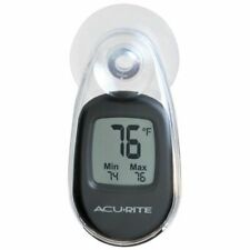 Acurite Digital Window Thermometer with Daily High / Low Temperature Indication