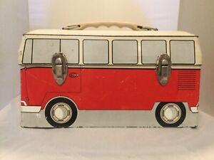 1960s VW Volkswagen Bus  Lunchbox - Good Condition