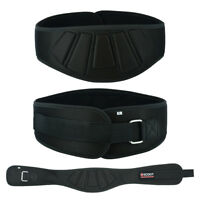 """Weight Lifting Belt Back Support 6"""" Wide EVA Incorporated Best Gym Training Belt"""